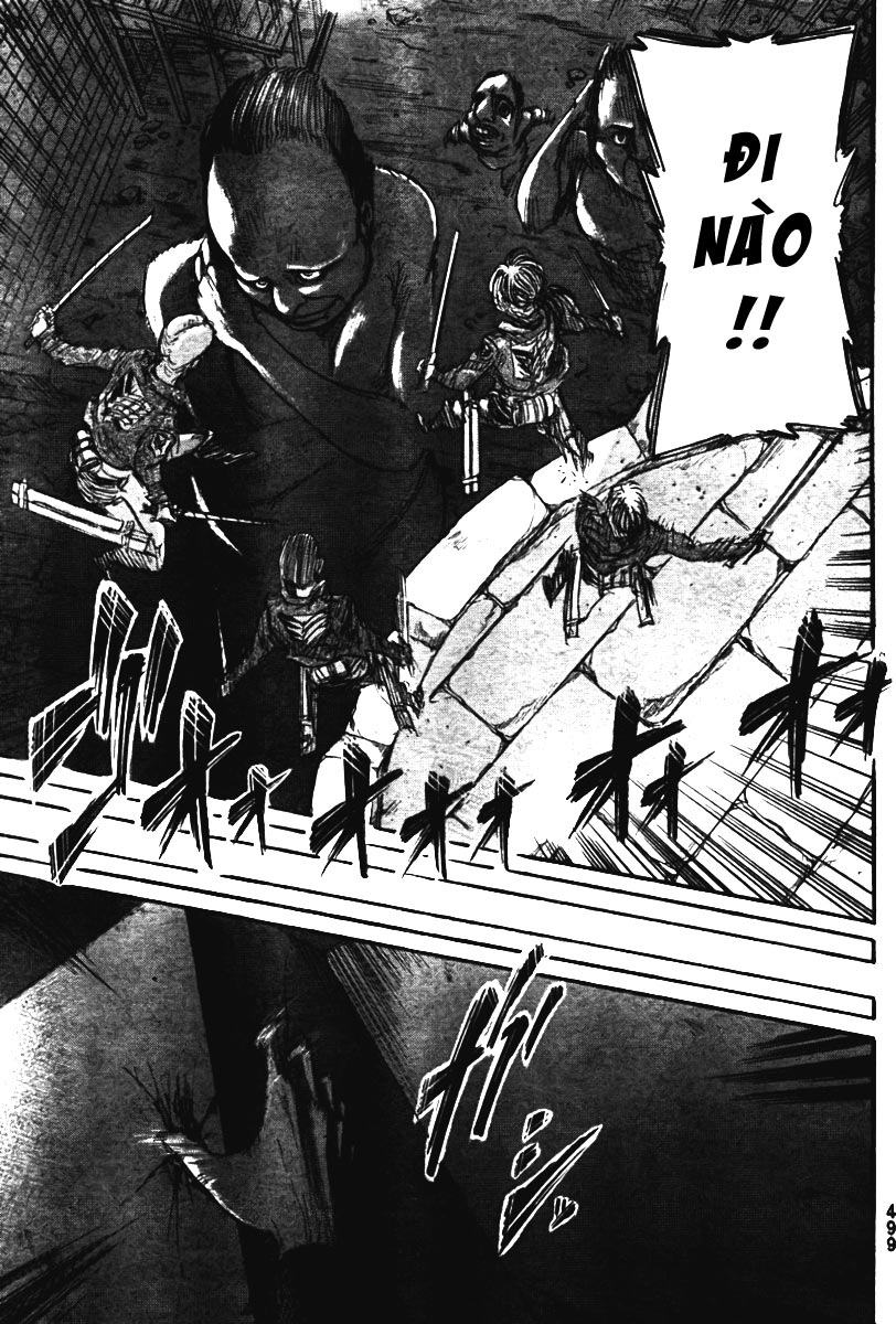 Attack on Titan chap 38 Trang 40