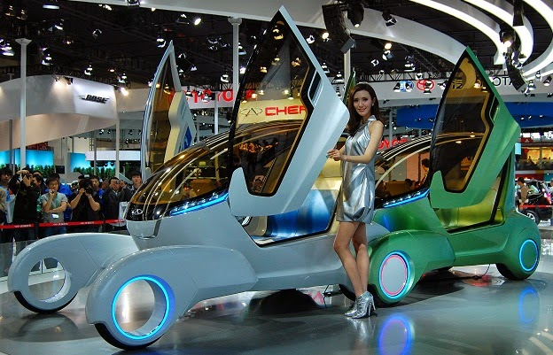 The Chery Ant concept car