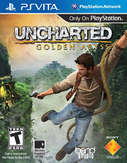 Uncharted: Golden Abyss for the PlayStation Vita.