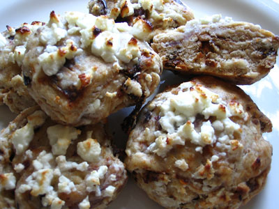Feta, Olive, and Sun-Dried Tomato Scones