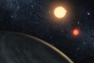 Planet with two suns discovered