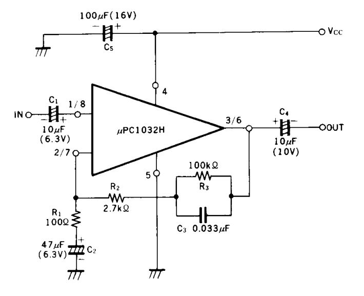 dual low noise preamplifier