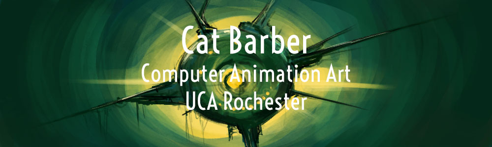 Cat Barber- Computer Animation Art