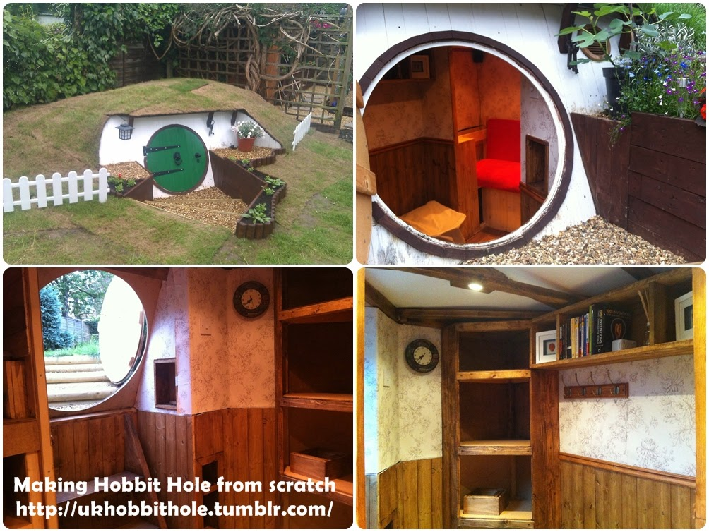 Making Hobbit Hole from scratch