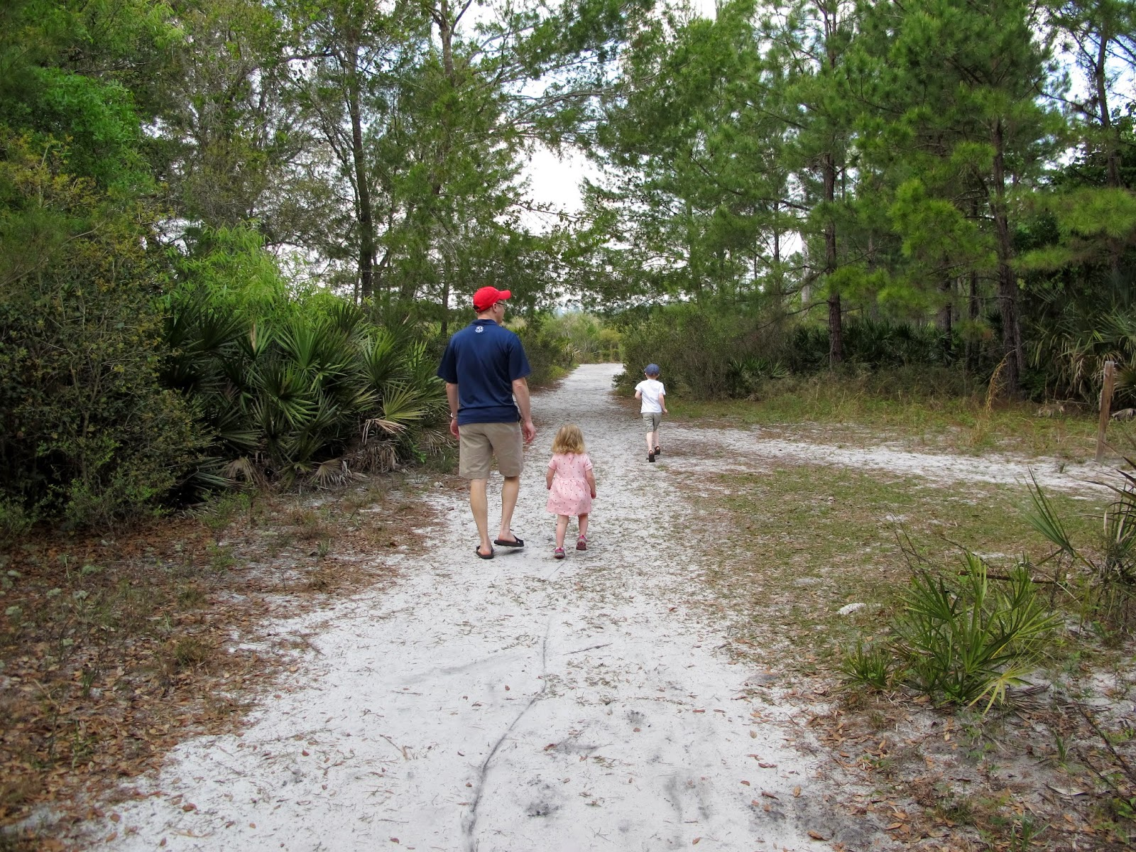 Family Walk at Wekiwa Springs