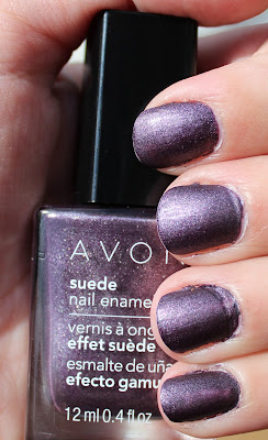 Pathetic mani - purple suede