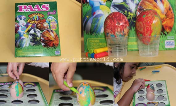 Kids Decorate Easter Eggs