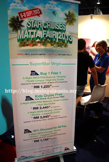 Star Cruise Promotions for Matta Fair