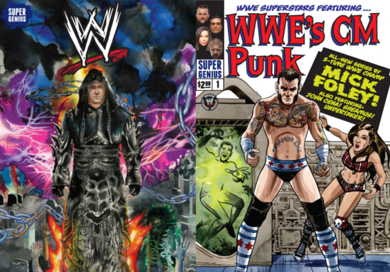 WWE #1′ Variant Covers Unveiled & WWE.com Preview - NYCC 2013