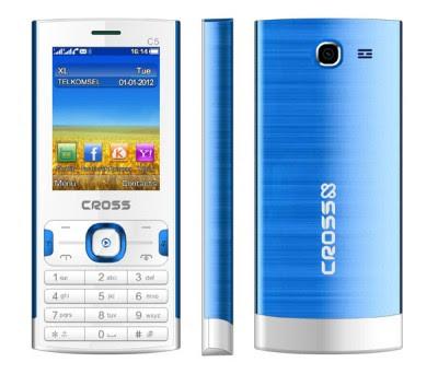 Cross C5,Spesifikasi, Harga, Hp Dual SIM Murah, 200 ribuan