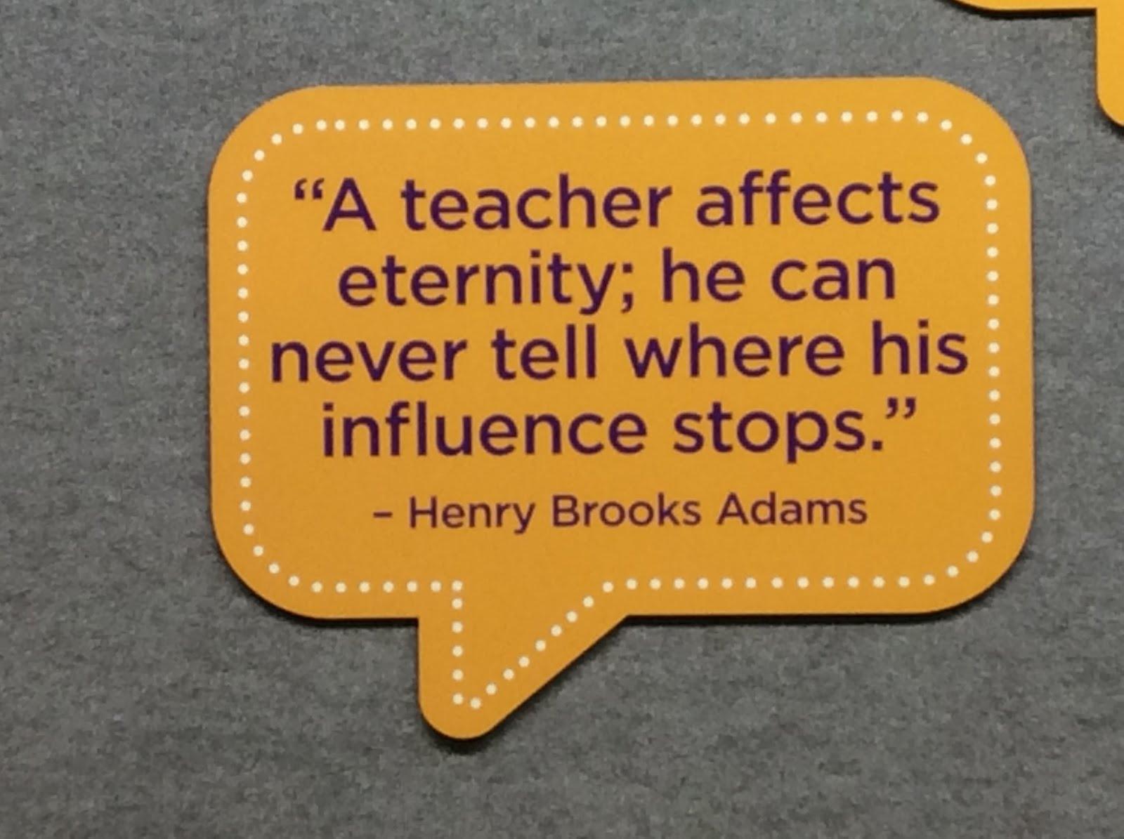 כוחו של מורה