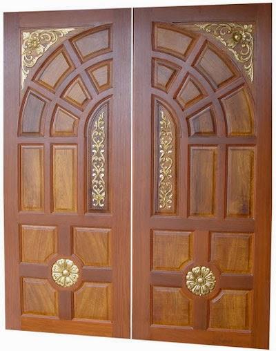 Make your choice double part door design catalog for Double door design
