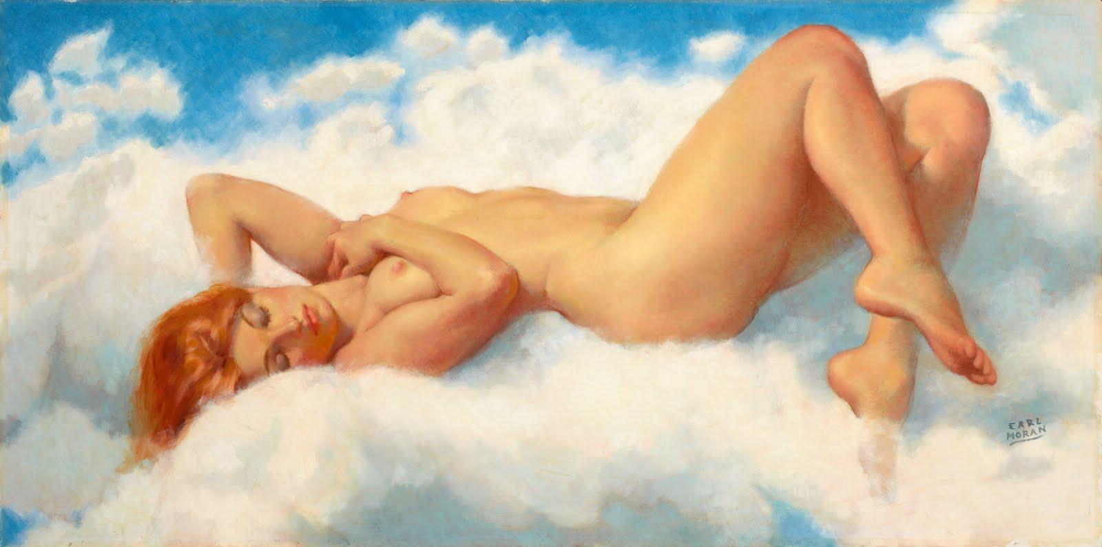 Ретро рисунки голых женщин, Старые, классические, ретро эротические фотографии 2 фотография