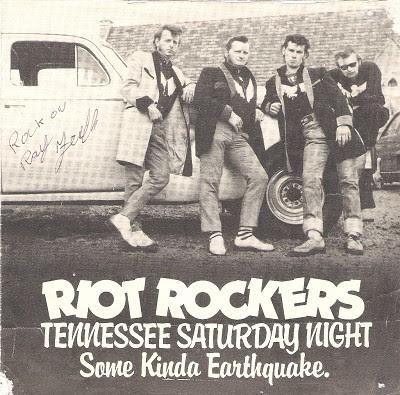 Riot rockers teddy boy rock n roll