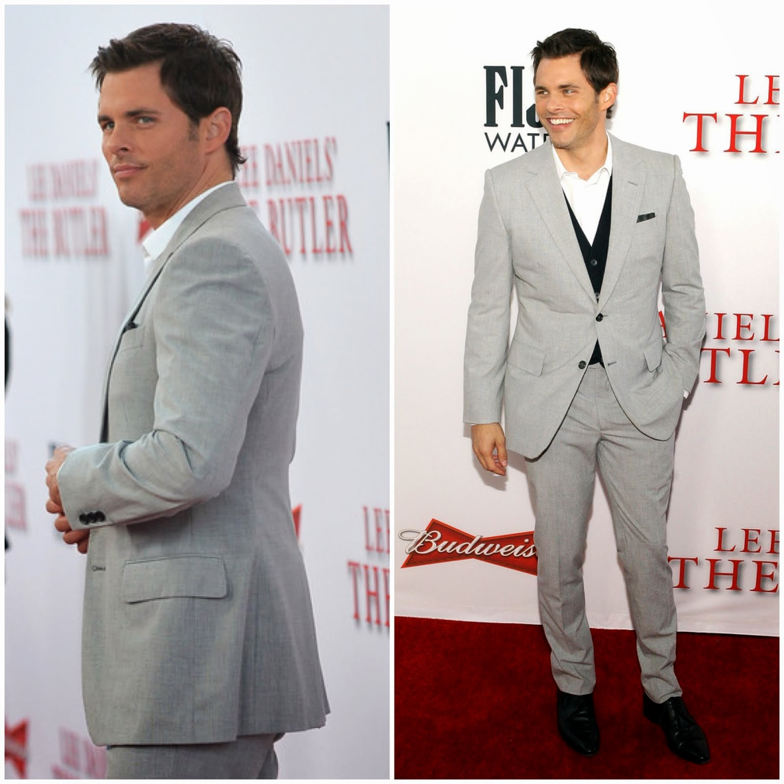 00O00 Menswear Blog James Marsden The Butler LA Premiere Saint Laurent