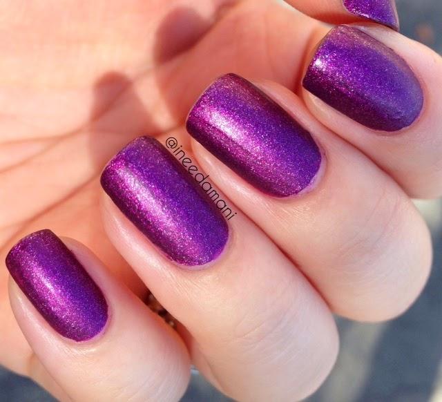 zoya harlow matte velvet nail polish swatch