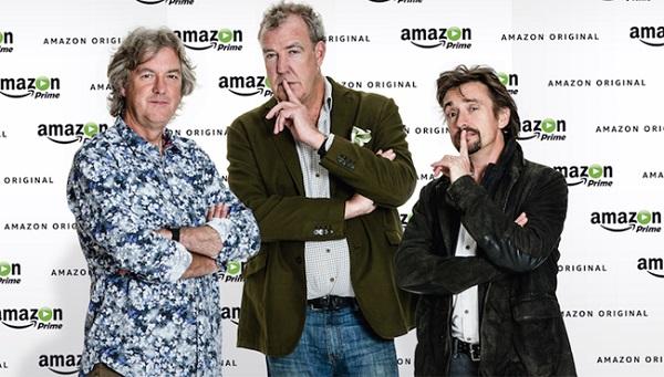 Jeremy Clarkson, James May y Richard Hammond