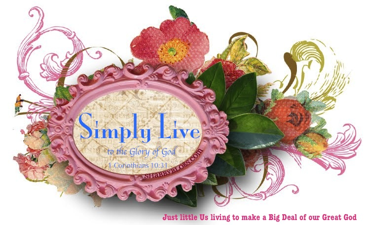 Simply Live to the Glory of God!