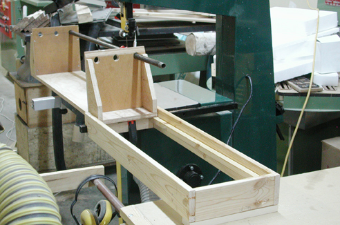 My Adventures In Woodworking Bandsaw Log Sled And Resaw
