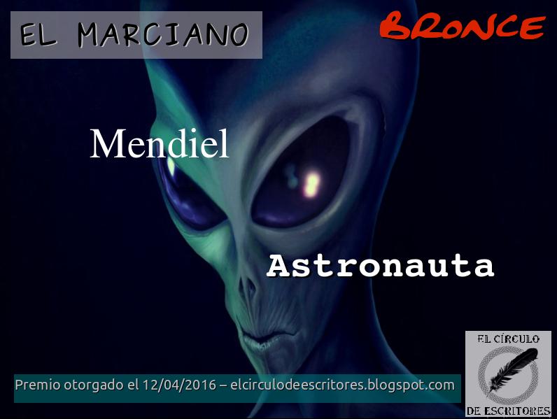"""Premio Bronce - Concurso """"El Marciano"""""""