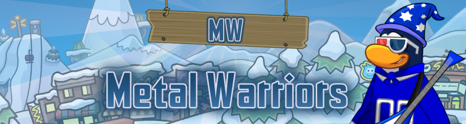 Metal Warriors Army of Club Penguin