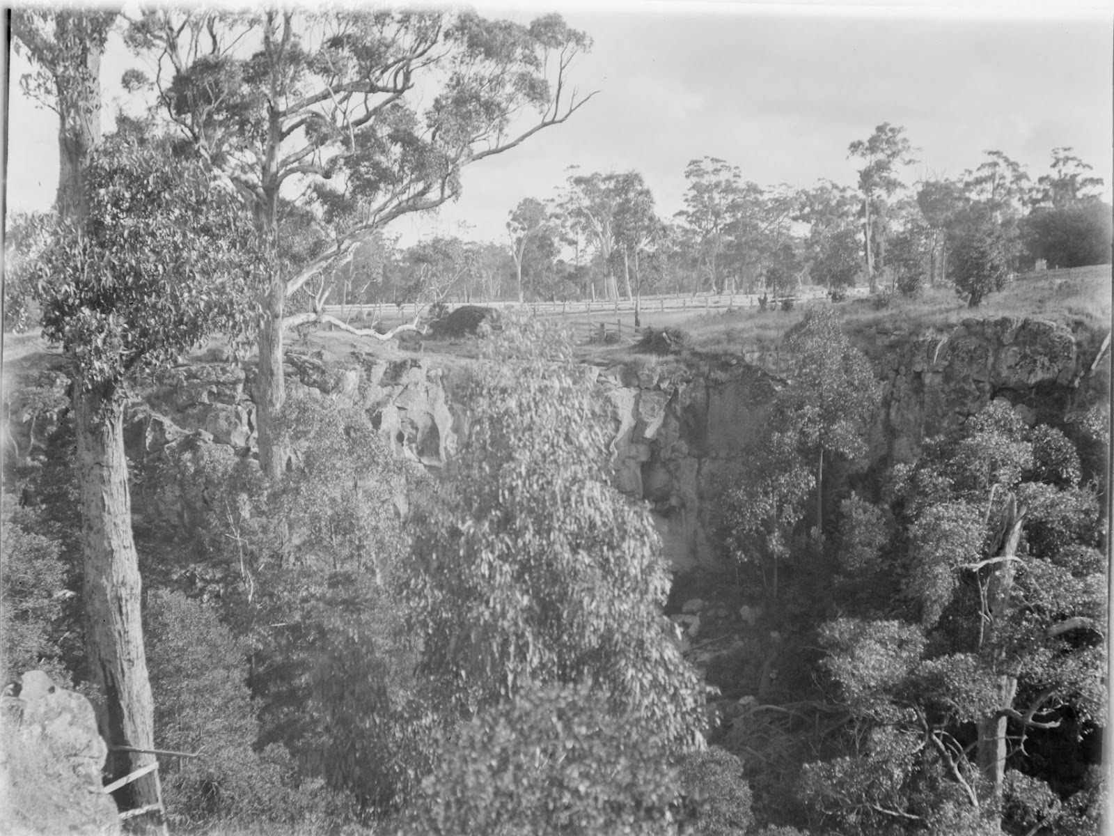 sailors creek falls easter 1899 mark james daniel state library of victoria