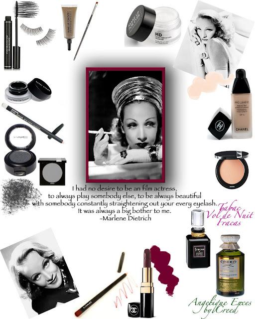 Marlene Dietrich Vintage Style Beauty Makeup Tips