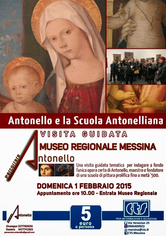PERCORRERE ANTONELLO E LA SUA SCUOLA AL MUSEO REGIONALE DI MESSINA