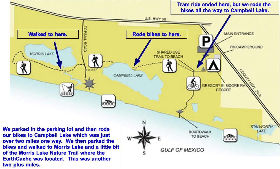 Gulf State Park Campground Map 9975 | INFOVISUAL