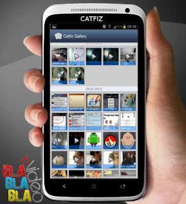 Video 'Catfiz' Aplikasi BBM For Android