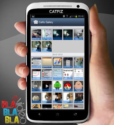 Gambar Gallery Catfiz Aplikasi BBM untuk Android