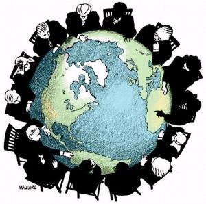 """John Joseph's """"GLOBAL POLITICS"""" - Cover"""