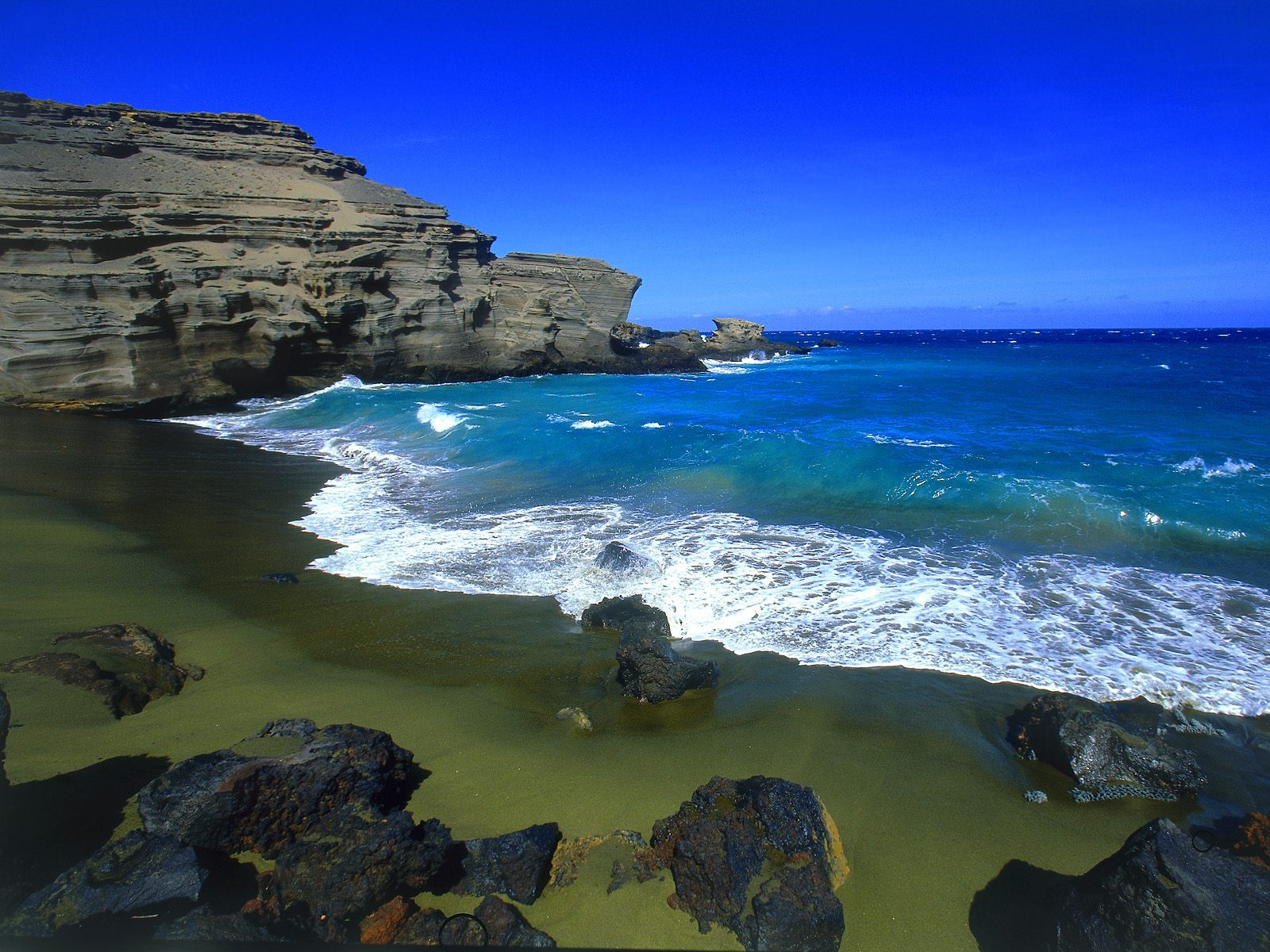 green beach big island wallpapers - Green Beach Big Island Wallpaper Free HD Wallpapers for