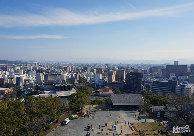 View from Kumamoto Castle