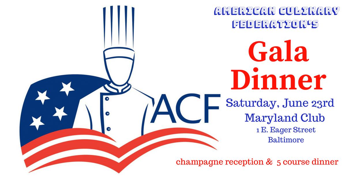 American Culinary Federation's Gala