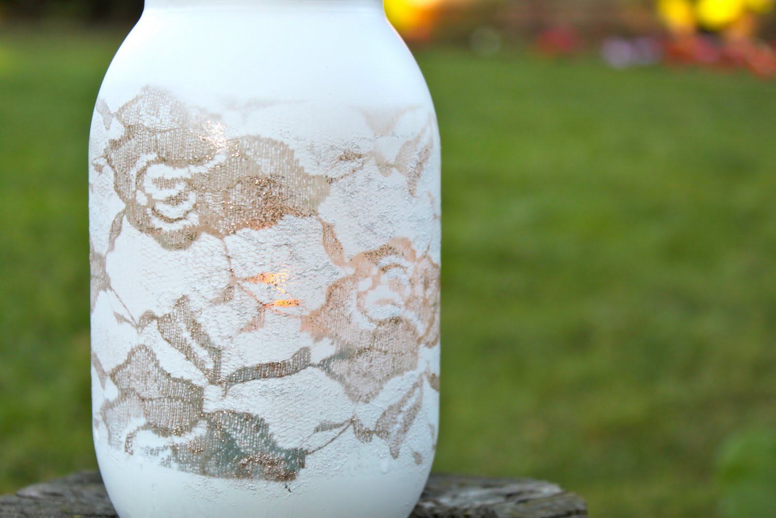 Diy lace vase michaela noelle designs diy lace vase reviewsmspy
