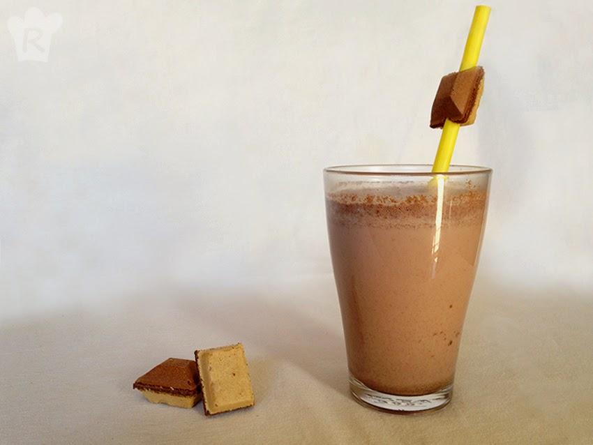 Batido de vainilla y chocolate