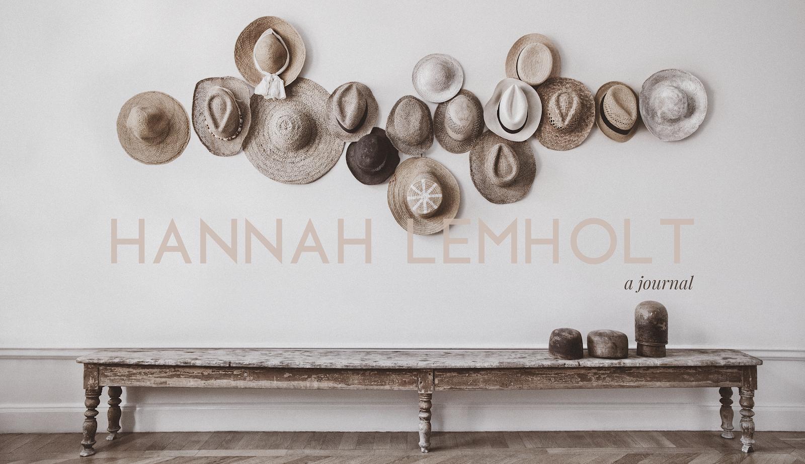 Hannah Lemholt English