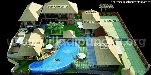 Fasilitas Puri Bali Stania