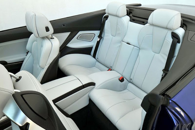 2013 BMW M6 Convertible Back Interior Rear View