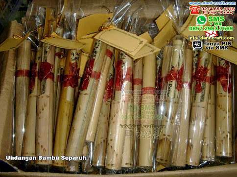 contoh undangan bambu separuh
