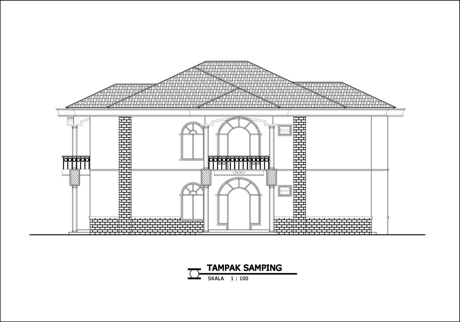 panduan bangunan rumah contoh gambar rumah 1 desain