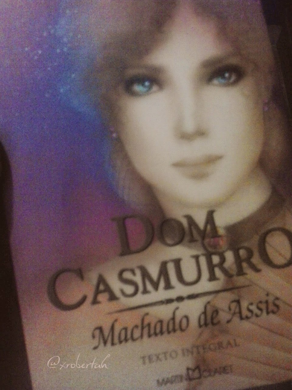Postagem do livro Dom Casmurro