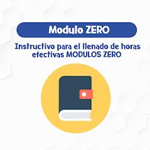 INTRUCTIVO DE MODULO ZERO