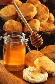 Zdrowy polski deser z miodem