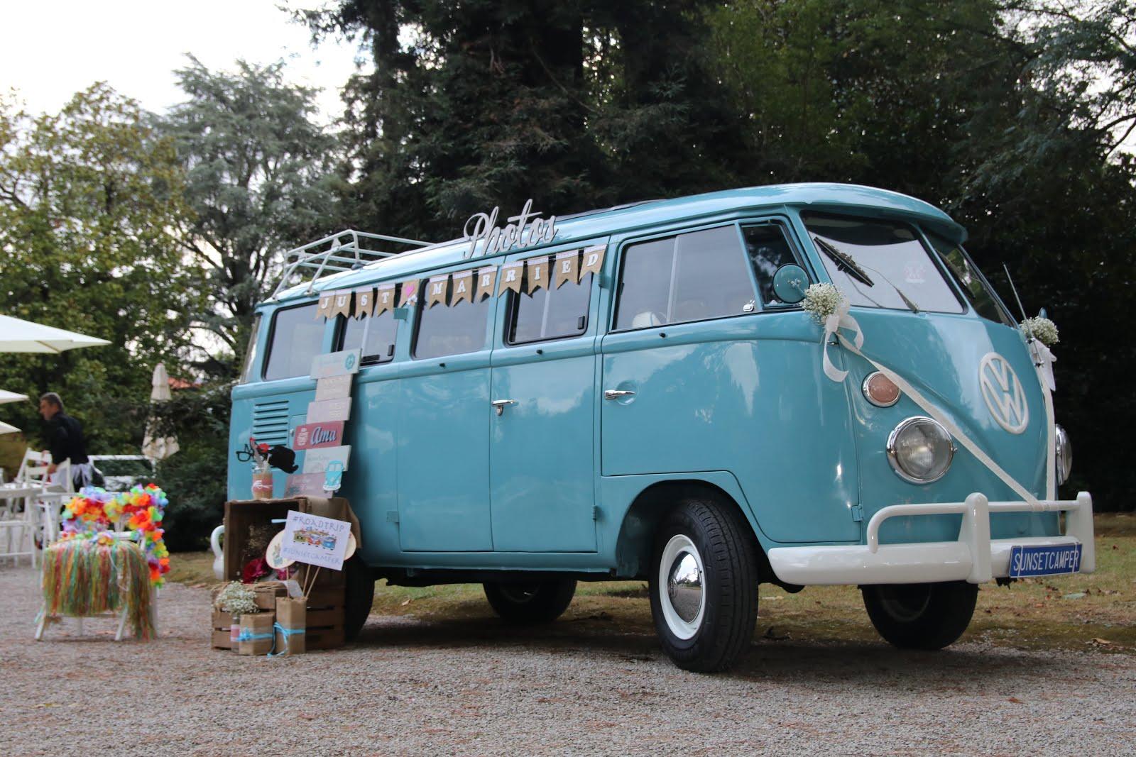 VW T1 para Bodas, Photocall y Eventos