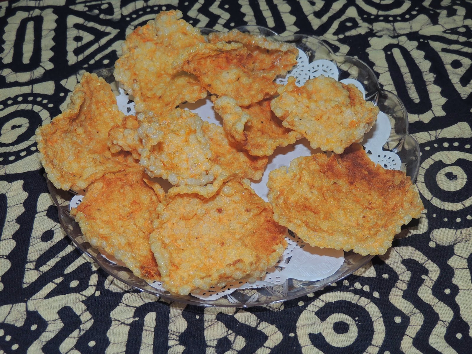 sago tomato papad  for sshh cooking
