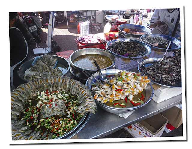 Food in the street, Tailand