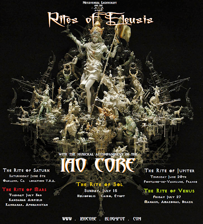 "The 2013 ""Rites of Eleusis Tour"""
