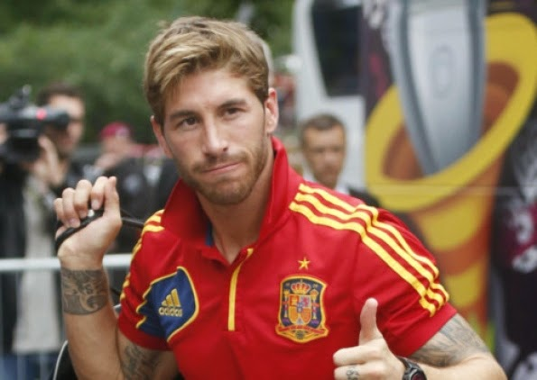 Sergio Ramos Tattoo